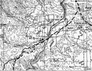 North Part Weiser—Salubria Route