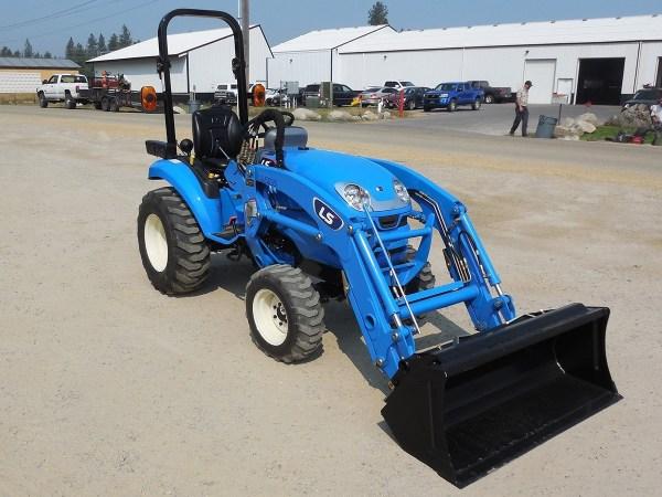 Ls Model Xj2025h Tractor & Loader 24.4 Hp Diesel Engine