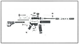 ruger ar 15 exploded diagram 6 pin wiring trailer ar15 parts idaho munitions