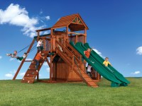 Backyard Adventures Titan Treehouse 3 Outdoor Playsets