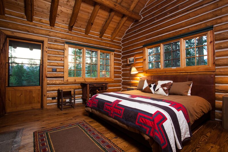Cabins  Guest Dude Ranch  Idaho Rocky Mountain Ranch