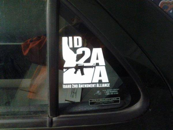 ISAA Window Sticker