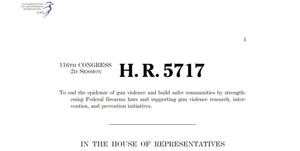 Congressional Letter Demands Gun Control in Next Round of Stimulus!