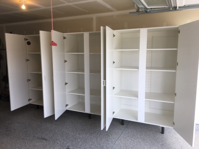 Large Extra Strength Garage Storage Cabinets