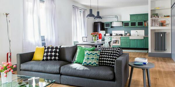 Basta qualche piccolo accorgimento e l'appartamento apparirà ampio e organizzato. Arredare Cucina E Soggiorno In Un Unico Ambiente I Nostri Consigli