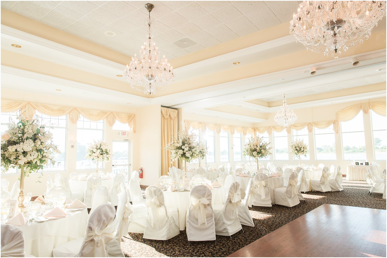 The Sunset Ballroom At Jack Bakers Lobster Shanty Wedding