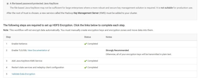 Setting up HDFS transparent encryption – Old dog, New tricks