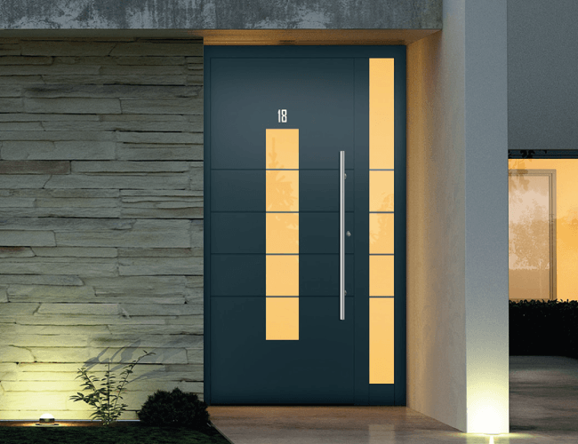 Aluminium Front Doors  International Doors and Windows