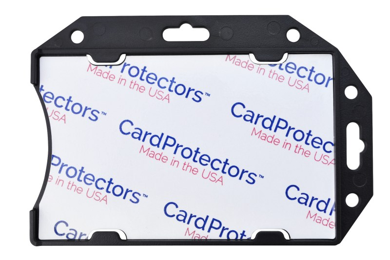 CardProtectors™ Rigid Shielded 1 Card Badge Holder