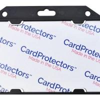 CardProtectors™ Rigid Shielded 1 Card Badge Holder