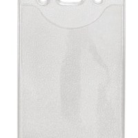 Vertical Top Load Slot-Chain Holes Badge Holder, 2.60″ x 4.06″Box of 100