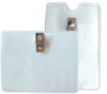 The Horizontal Top Load Badge Holder with Clip