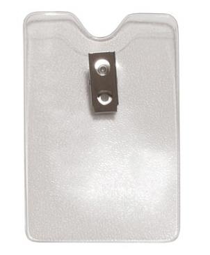 Vertical Top Load Badge Holder