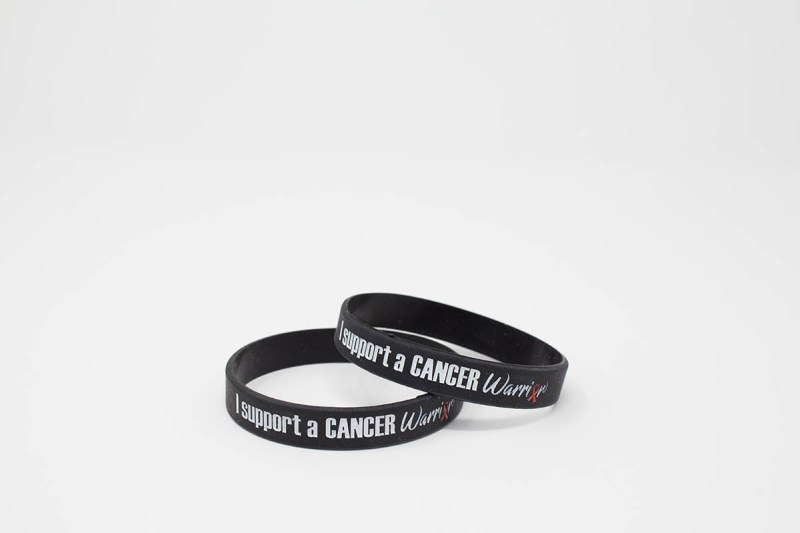 I Support a Cancer Warrior Wristband
