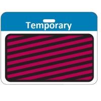 Time Expiring Back Part - Temporary - Light Blue