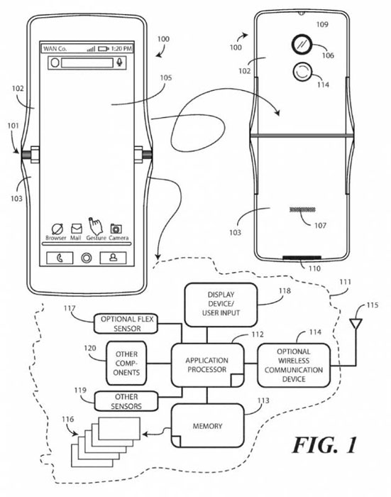 Motorola confirme un smartphone à écran pliable comme le