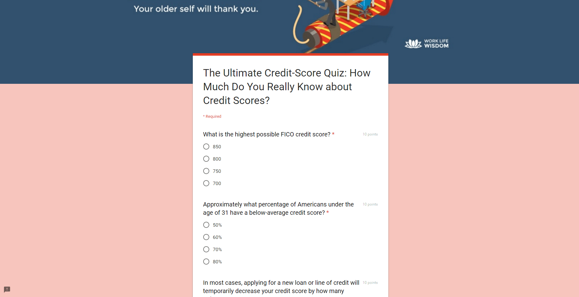 Intro To Quizzes