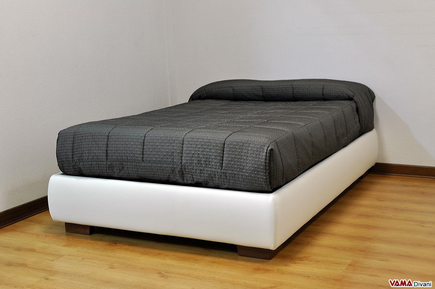 Cos il letto una piazza e mezzo