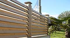 panneau et claustra bois autoclave