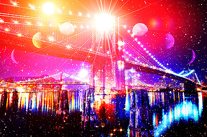 Bridge of Unity and Divine Light Brooklyn Bridge New York »-(¯`·.·´¯)-»Idea2Dezign™«-(¯`·.·´¯)-«