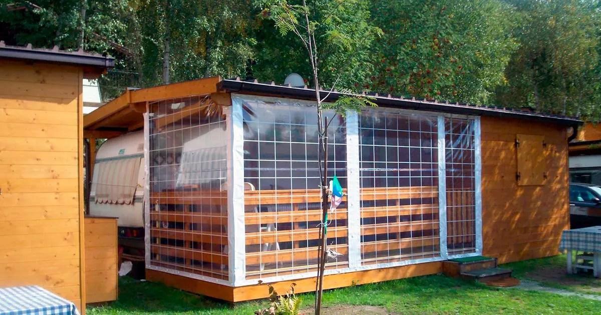 Teli in pvc misure standard. Tende Trasparenti Per Balconi E Verande Idea Casa Plan