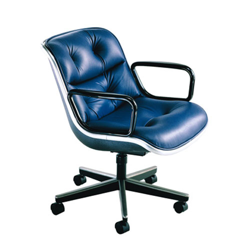 pollock executive chair replica high backed throne eames aluminum office ideacollection charles