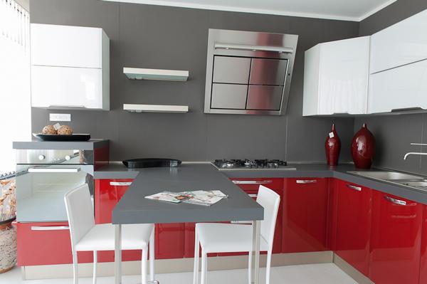 Cucina rossa vi siete innamorati del rosso per la cucina