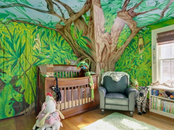 Arredare camera bambino 25 idee in tema foresta