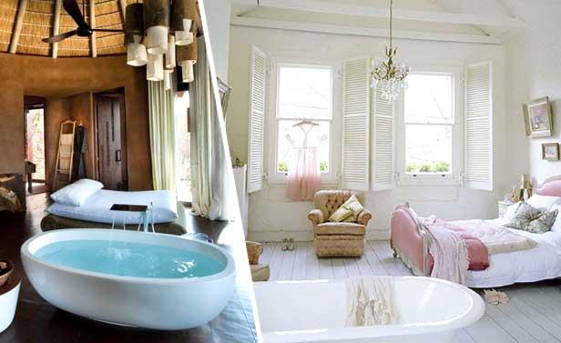 Vasca in camera da letto 26 camere da letto con vasca