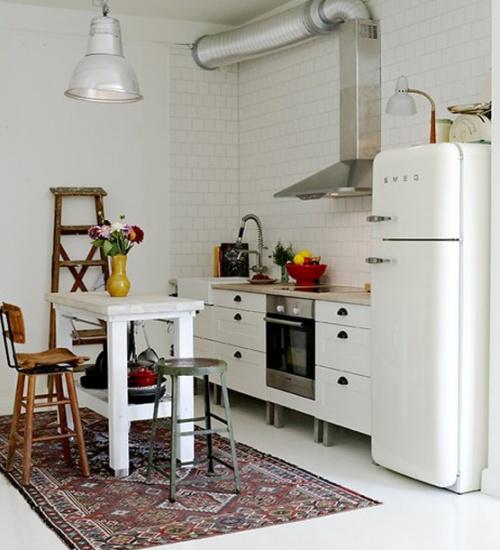 Parete mattoni a vista cucina 69 cucine con pareti di