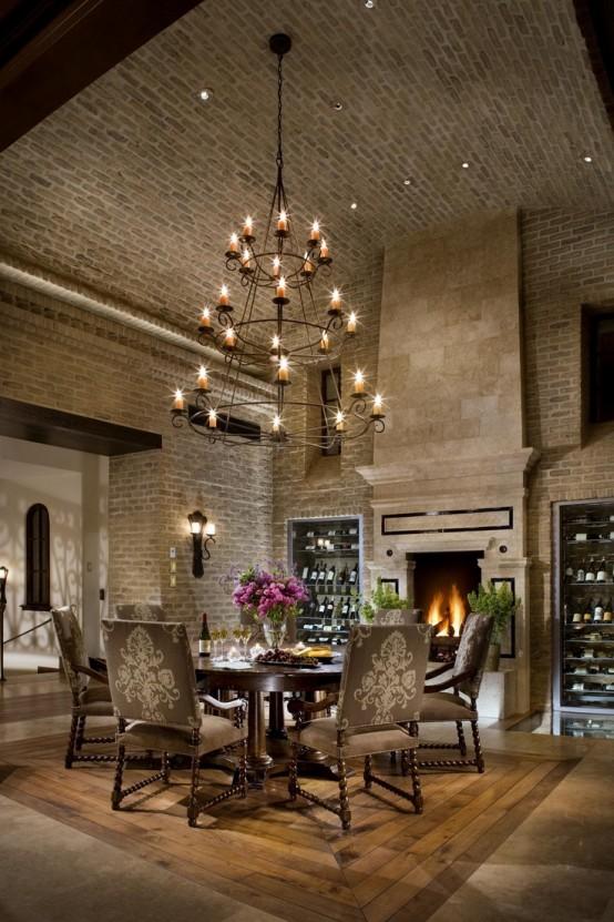 Parete mattoni a vista cucina 69 cucine con pareti di mattoni a vista