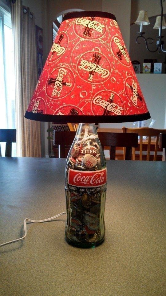 Riciclare bottiglie Coca Cola di vetro 20 idee originali