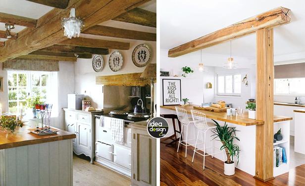 Bianco e LEGNO in cucina 20 idee da cui trarre ispirazione