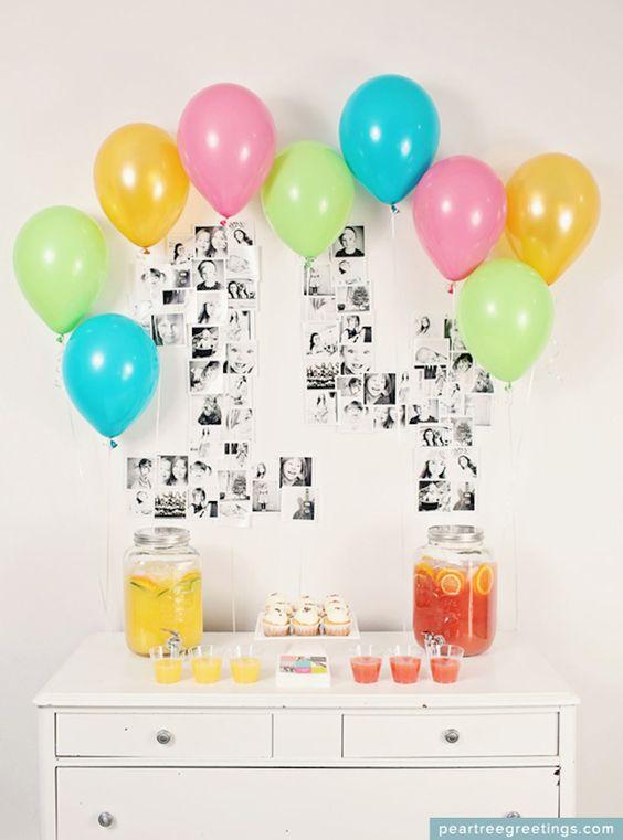 Decorare casa con i palloncini per un compleanno 20 idee