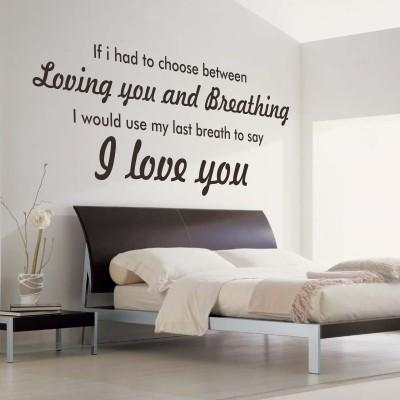 Scritte decorative in camera da letto Ecco 20 idee