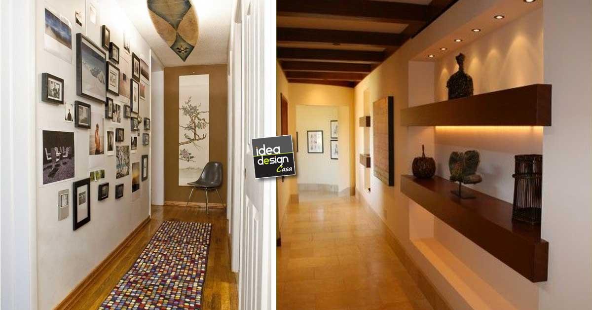 Decorare il corridoio Ecco 20 idee da cui trarre ispirazione