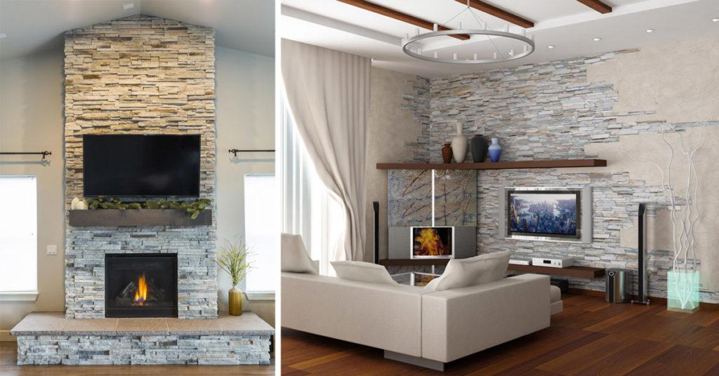 Non importa quale tema tu abbia scelto, siamo certi che tra tutte le nostre proposte di decorazioni per interni ci saranno. Decorare La Parete Tv Con Le Pietre 20 Idee