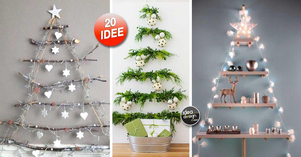 Un Albero Di Natale Alternativo Ecco 20 Bellissime Idee