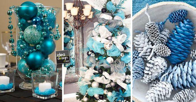 Natale in colore Turchese 20 idee da cui trarre
