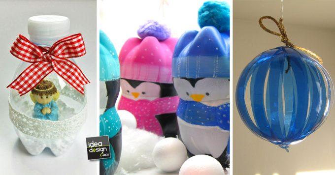 Lavoretti Di Natale Con Bottiglie Di Plastica Riciclate Dn22