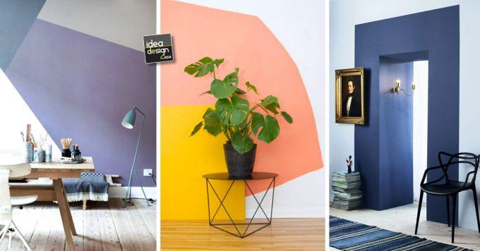 Consigli su attrezzi, scelta della pittura, preparazione e tecnica per rinfrescare e dipingere i. Dipingere Le Pareti Di Casa In Modo Creativo 20 Idee Design
