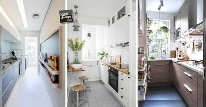 Arredare una cucina stretta e lunga Ecco 20 esempi a
