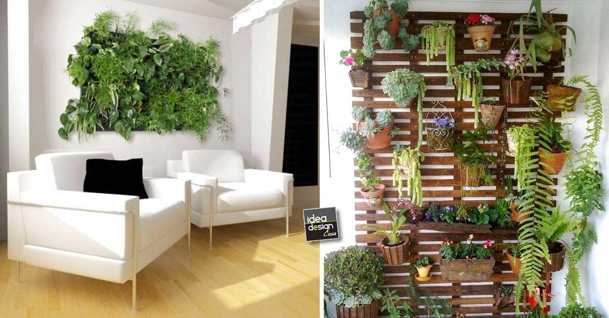 Creare una parete vegetale per decorare casa 20 idee per ispirarviVIDEO