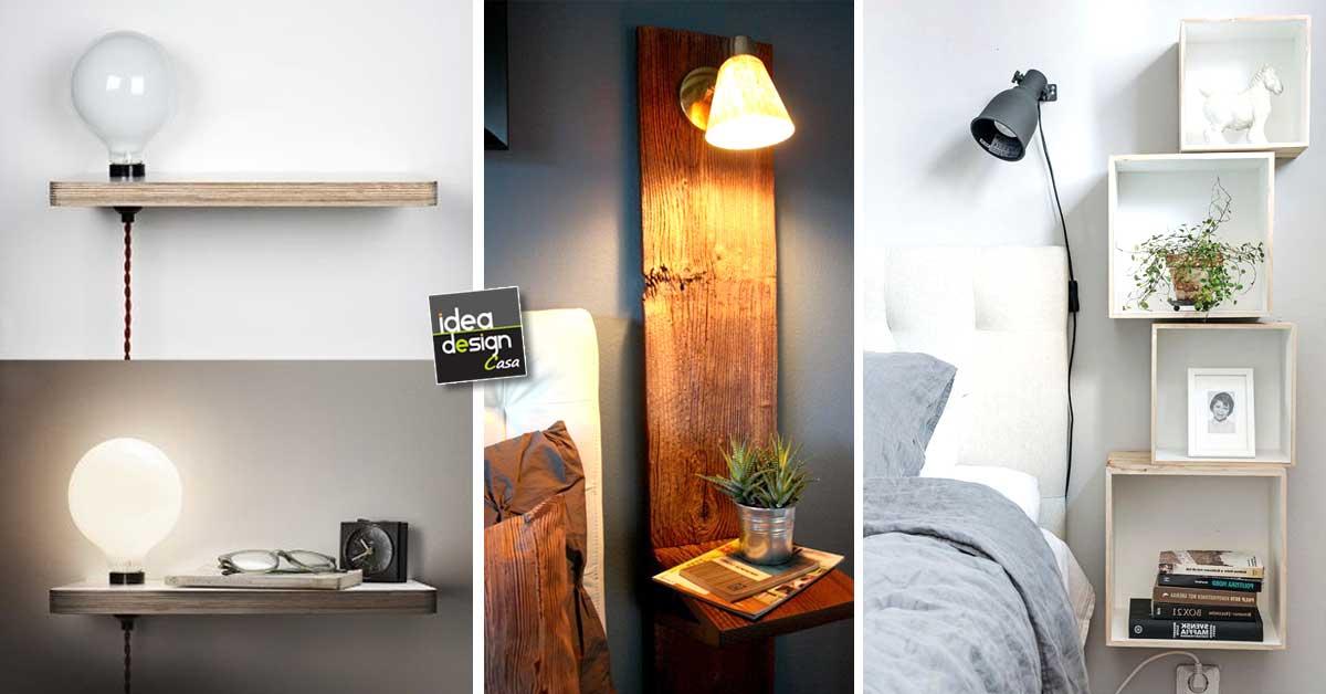 Comodini originali per la camera da letto 20 idee