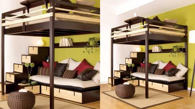 Come arredare con un letto a soppalco 20 idee per