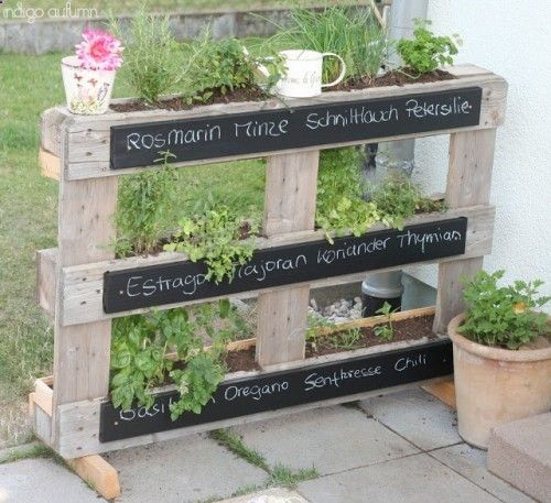 Pallet For Decorating Your Garden! 20 Ideas Get Inspired