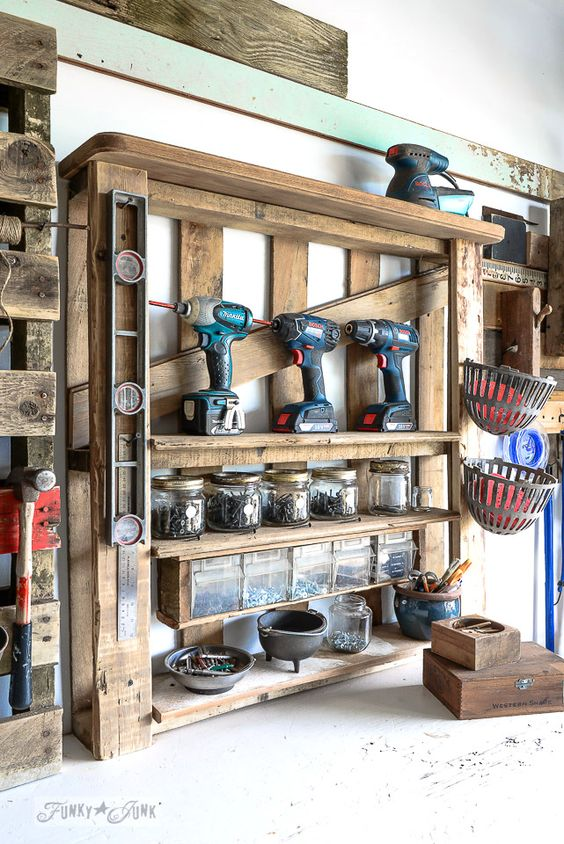 Sistemare gli attrezzi in garage Ecco 20 trucchi