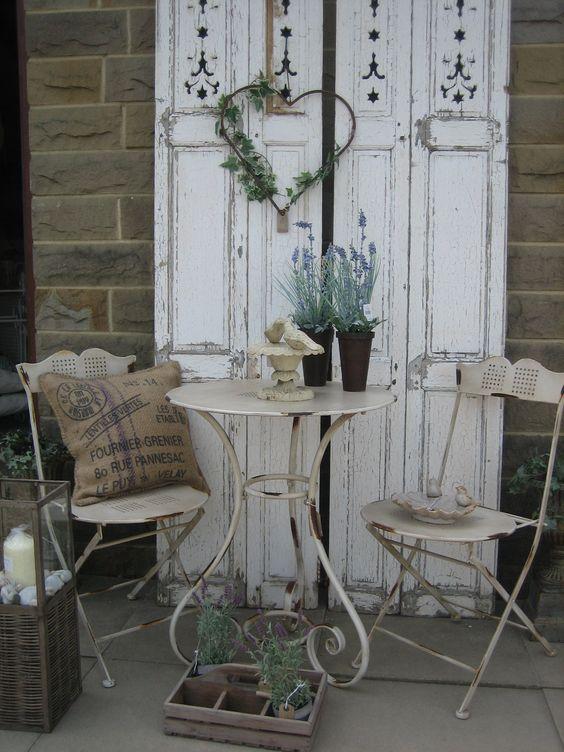 Decorare il giardino in stile Shabby Chic 20 idee per ispirarvi