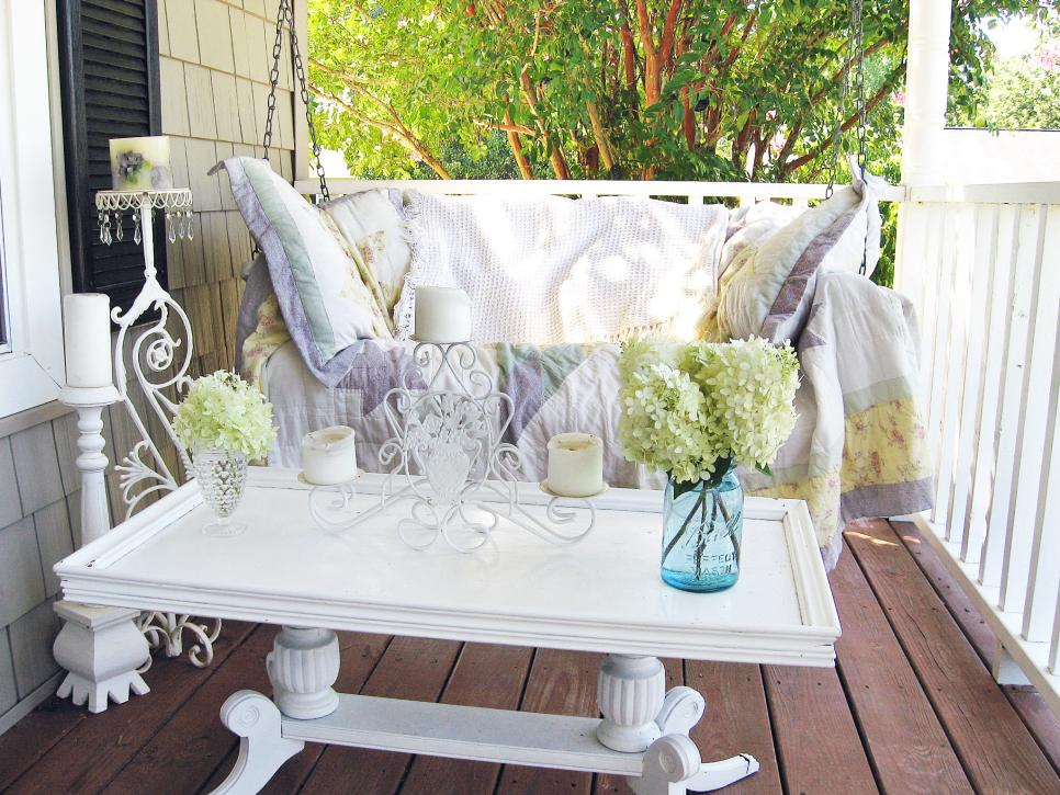 Decorate The Garden Style Shabby Chic! 20 Ideas To Inspire You