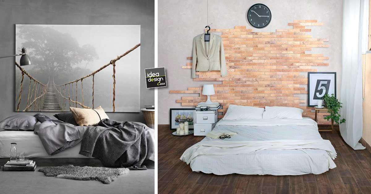 Decorare la parete dietro al letto Ecco 20 idee creative a cui ispirarsi